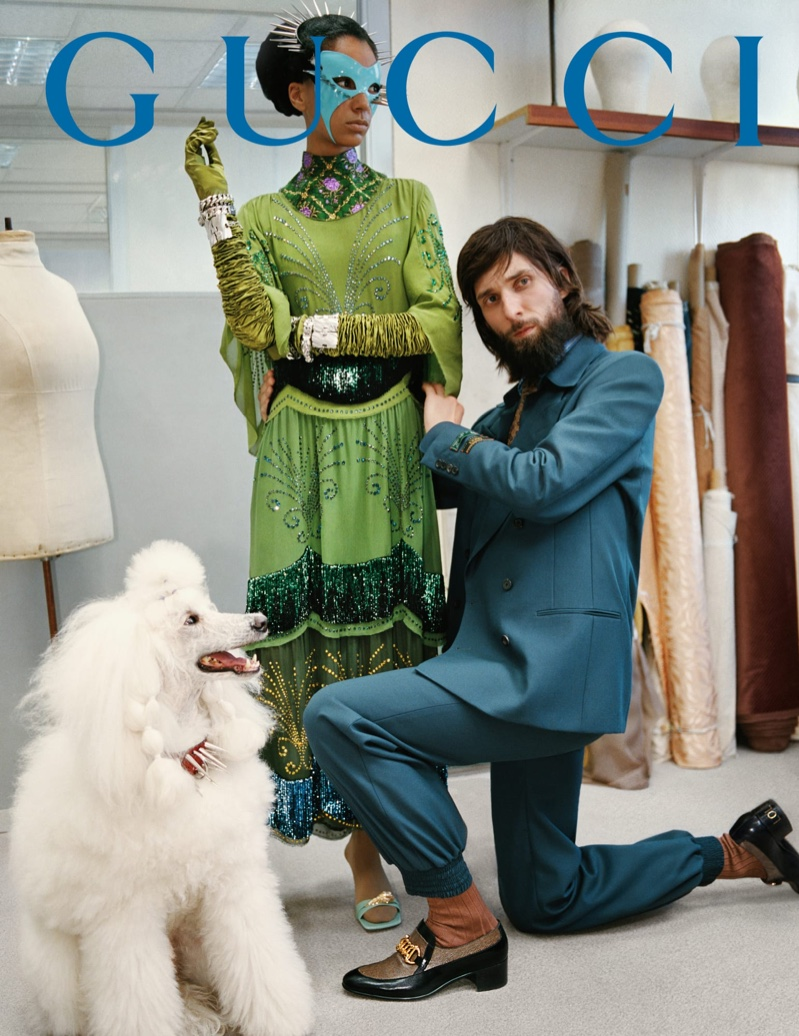 An image from Gucci's fall 2019 advertising campaign