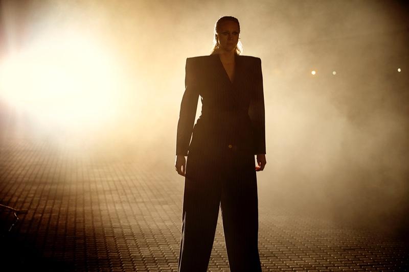 Gwendoline Christie suits up for Rolls-Royce Phantom film