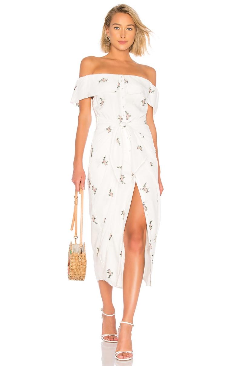 House of Harlow 1960 x REVOLVE Rumi Dress in White $216
