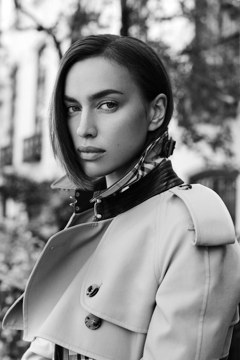 Irina Shayk Gets Glam for Bazaar.com's Digital Issue