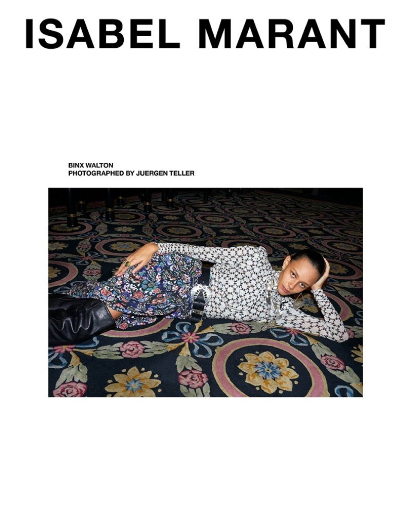 Isabel Marant unveils fall-winter 2019 campaign