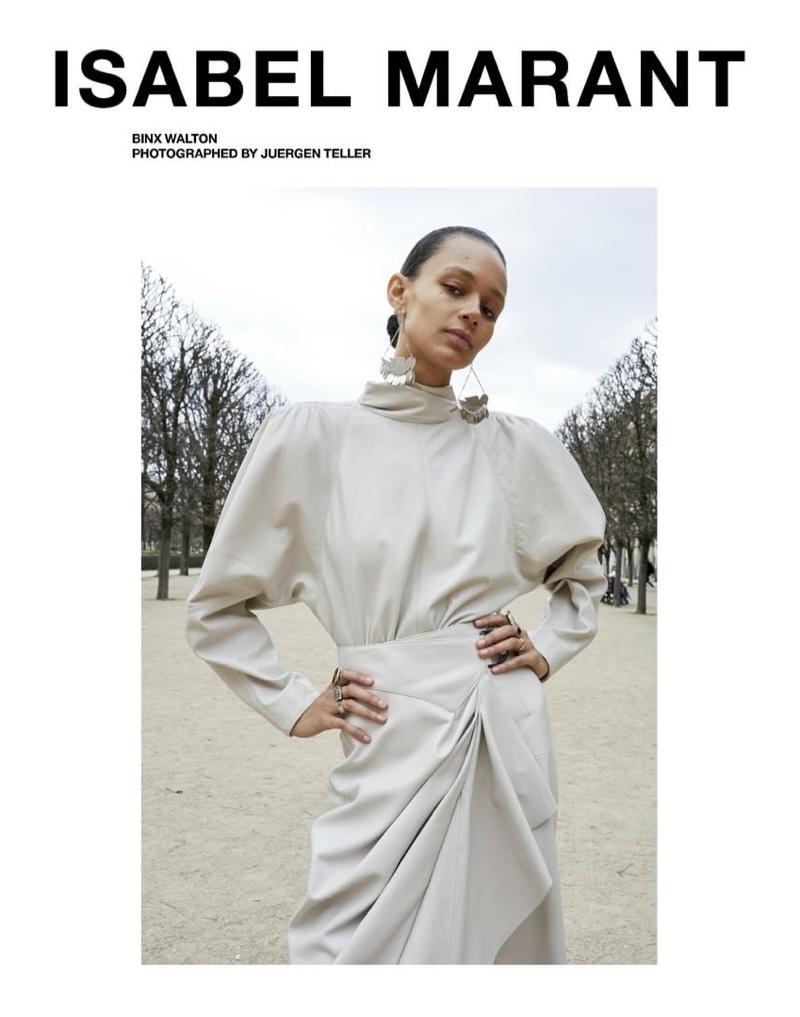 Juergen Teller photographs Isabel Marant fall-winter 2019 campaign