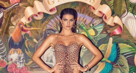 Isabeli Fontana Smolders in Body-Con Looks for Ocean Drive