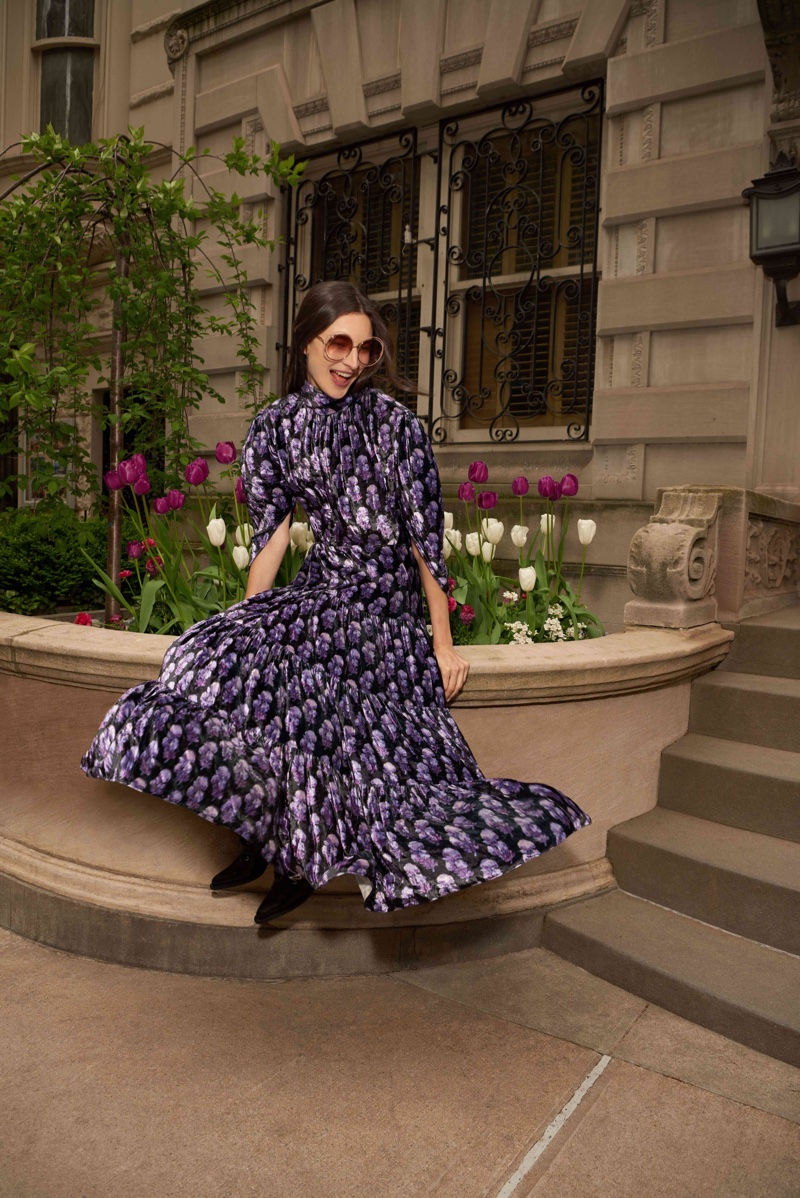 Jacquelyn Jablonski Models Chic Pre-Fall Looks for Bergdorf Goodman