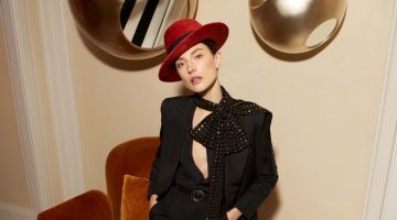 Jacquelyn Jablonski Models Chic Pre-Fall Looks for Bergdorf Goodman