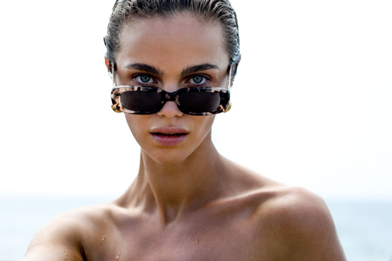 Amber Sceats spotlights a limited-edition eyewear capsule collection