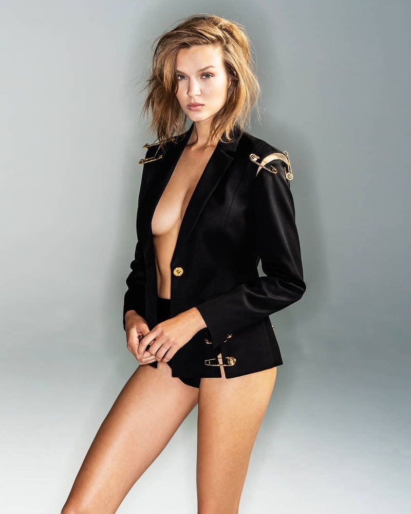 Josephine Skriver Heats Up The Daily Summer Cover Story