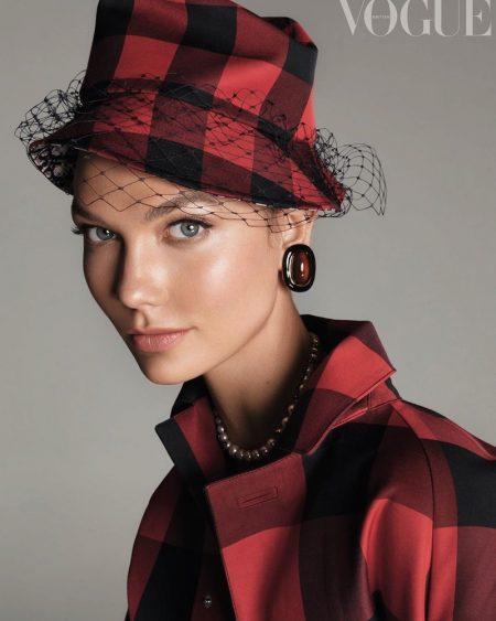 Karlie Kloss Exudes Elegance for Vogue UK Cover (Photos)