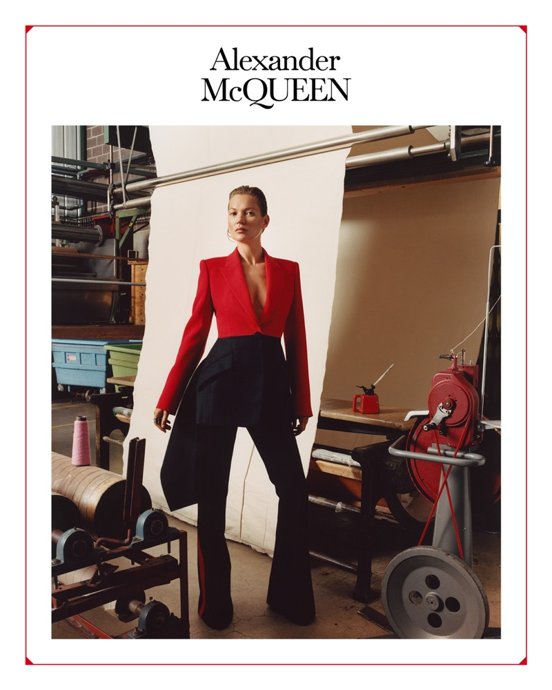 Kate Moss stars in Alexander McQueen fall-winter 2019 campaign
