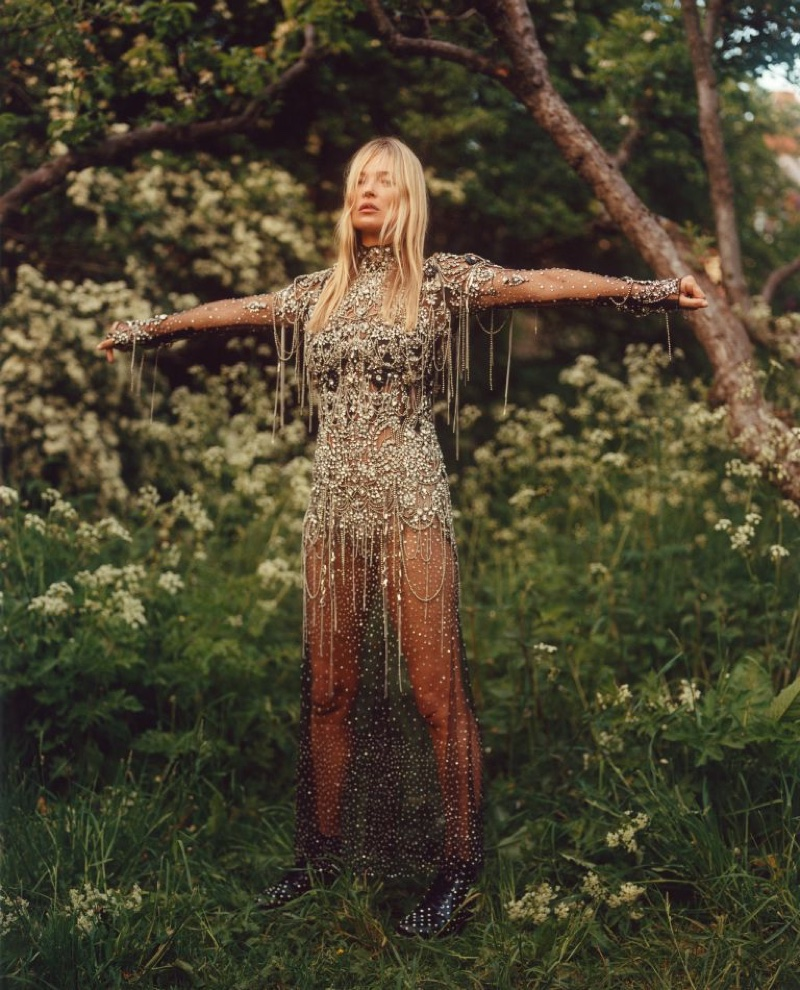 Alexander McQueen taps Kate Moss for fall-winter 2019 campaign