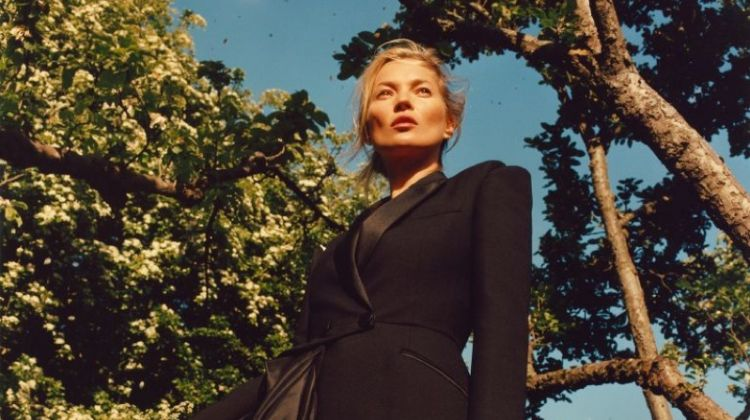 Kate Moss Strikes a Pose in Alexander McQueen Fall 2019 Campaign