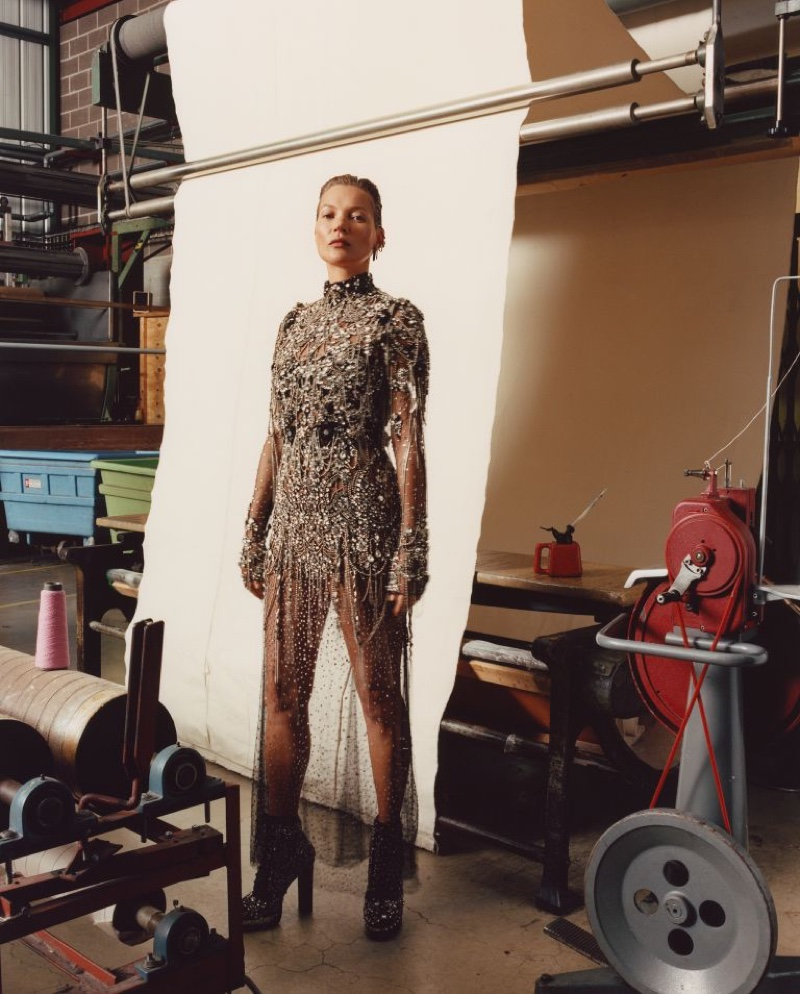 Kate Moss fronts Alexander McQueen fall-winter 2019 campaign