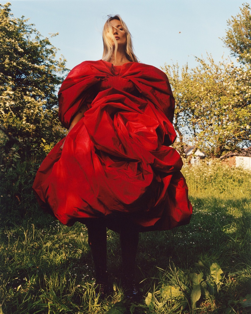 Supermodel Kate Moss appears in Alexander McQueen fall-winter 2019 campaign
