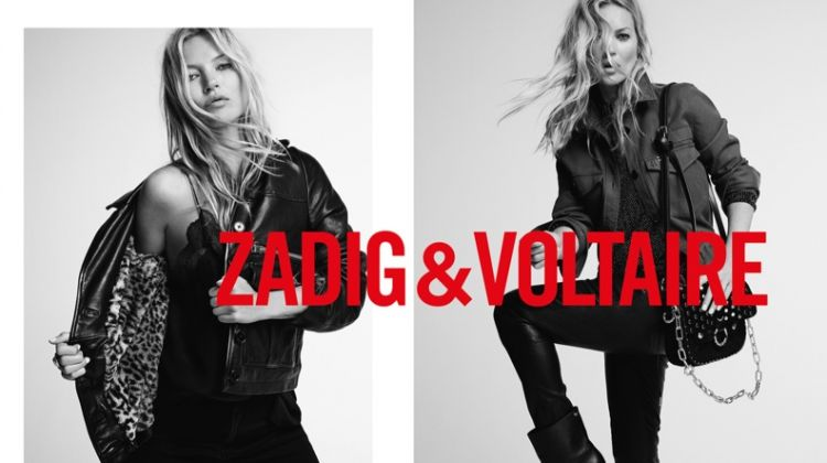 An image from Zadig & Voltaire's fall 2019 advertising campaign