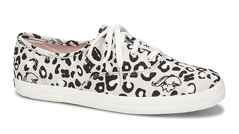 Keds x Betty & Veronica Champion Sneaker in Leopard/Grey $59.95