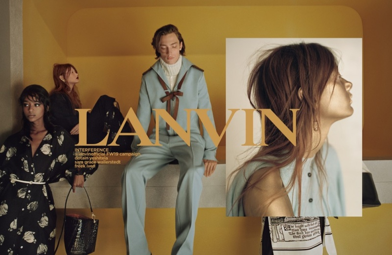 Lanvin launches fall-winter 2019 campaign
