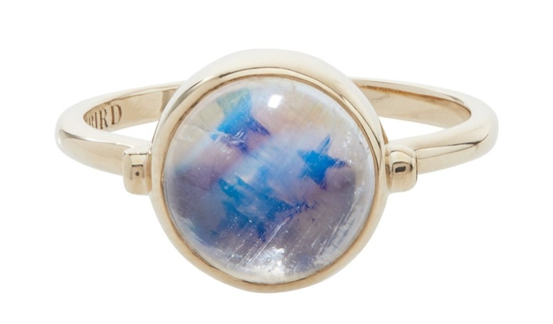 Leith Clark x Catbird Secret Star Moonstone Ring $940