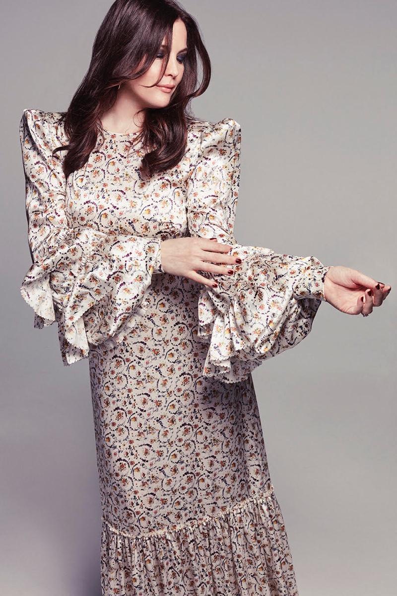 Liv Tyler wears The Vampire's Wife dress