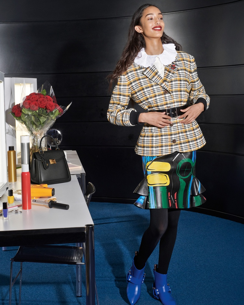 Mona Tougaard fronts Louis Vuitton fall-winter 2019 campaign