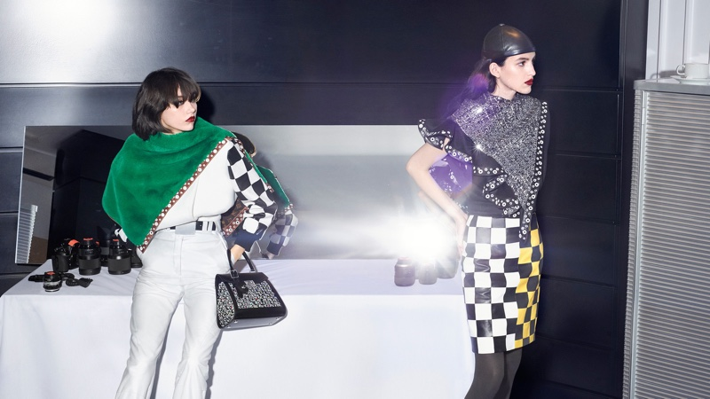 Steinberg and Petra Arias appear in Louis Vuitton fall-winter 2019 campaign
