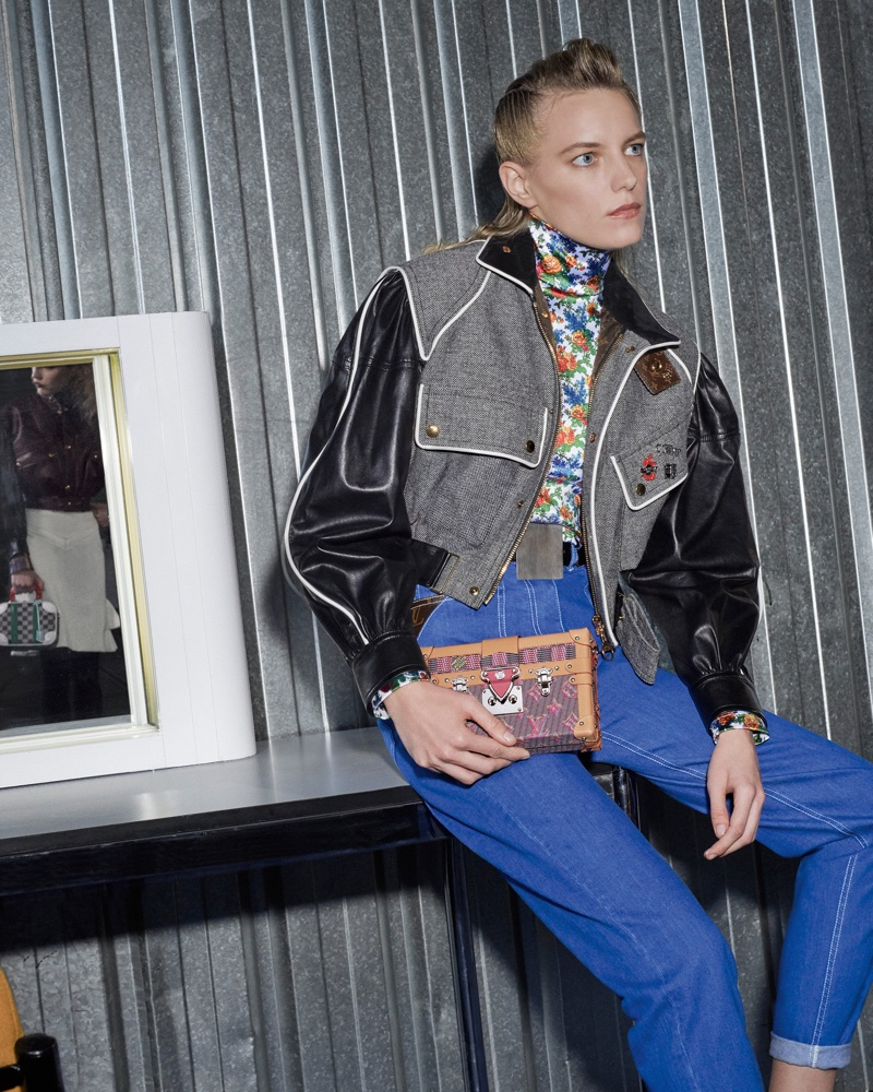 Erika Linder fronts Louis Vuitton fall-winter 2019 campaign