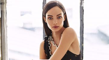 Luma Grothe Poses in Elegant Looks for Woman Spain