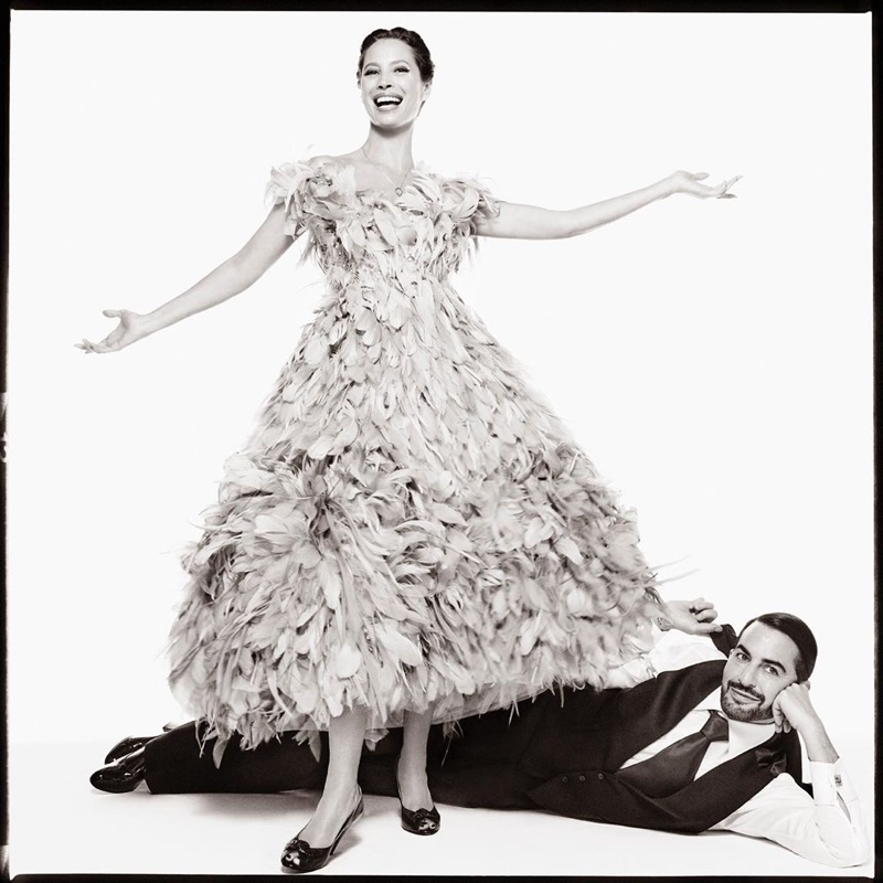 Marc Jacobs joins Christy Turlington for fall-winter 2019 campaign