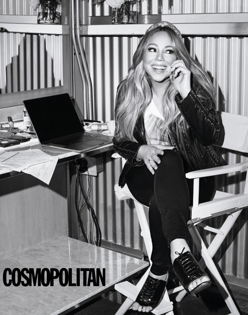 Mariah Carey Cosmopolitan 2019 Cover Photoshoot Fashion