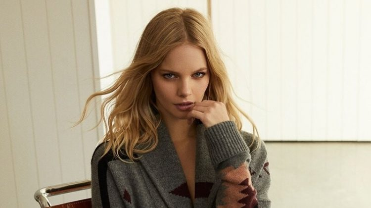 Marloes Horst stars in 360 Cashmere fall-winter 2019 campaign