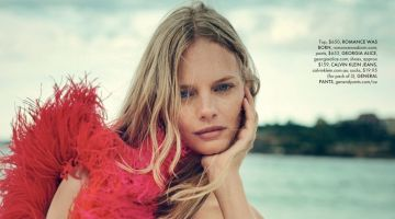 Marloes Horst Poses in Standout Fashion for ELLE Australia