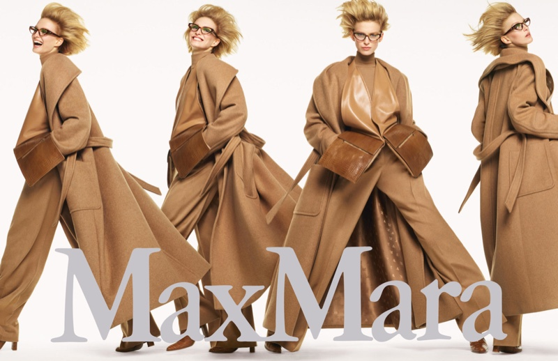 Emily Driver fronts Max Mara fall-winter 2019 campaign