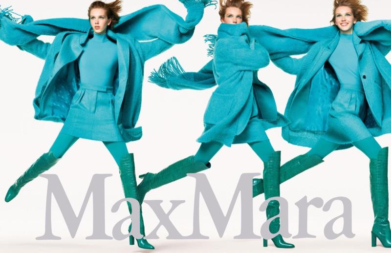 Bente Oort fronts Max Mara fall-winter 2019 campaign