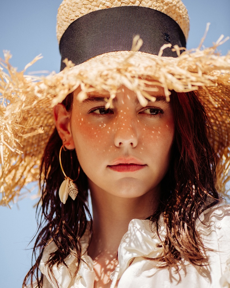 Michi Delane Poses in Sunny Summer Looks for ELLE Croatia