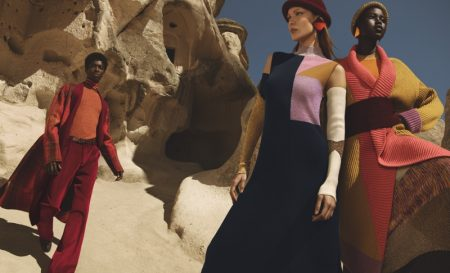 Alton Mason, Bella Hadid and Adut Akech front Missoni fall-winter 2019 campaign