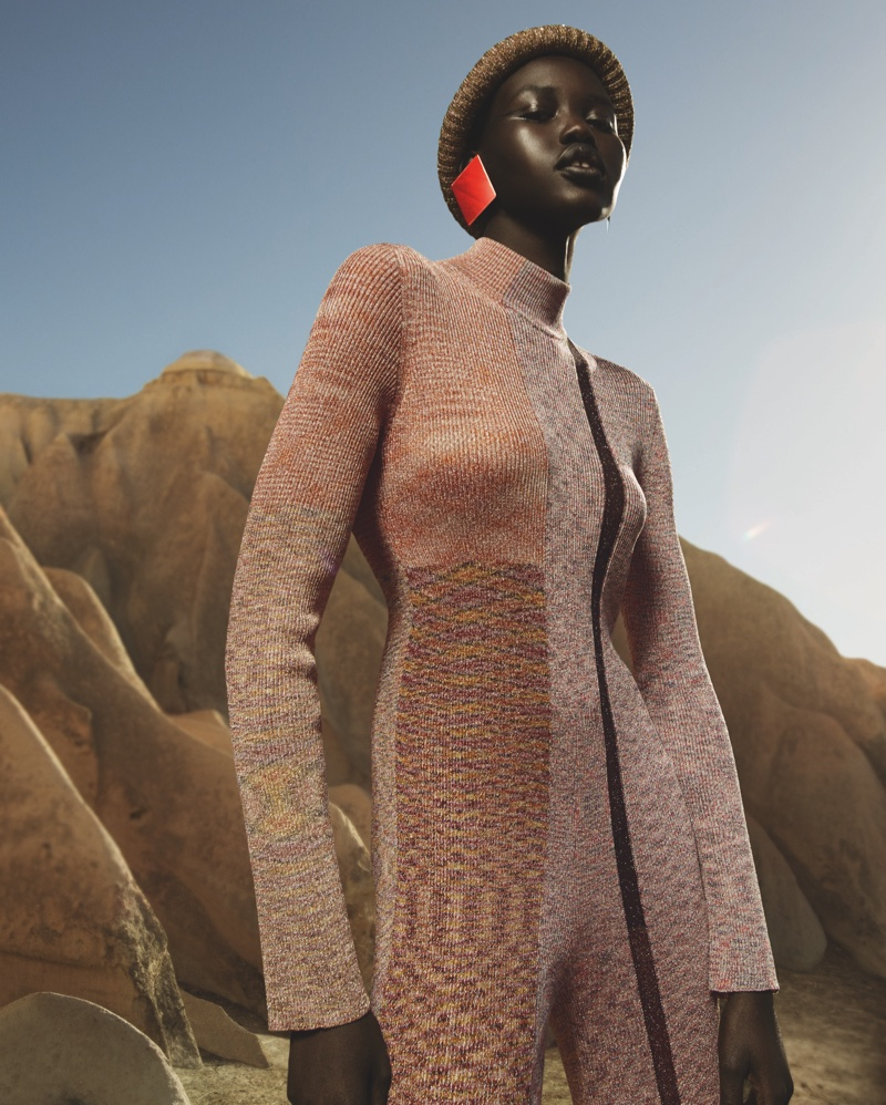 An image from Missoni's fall-winter 2019 campaign