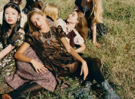 Eddie Wrey photographs Miu Miu fall-winter 2019 campaign