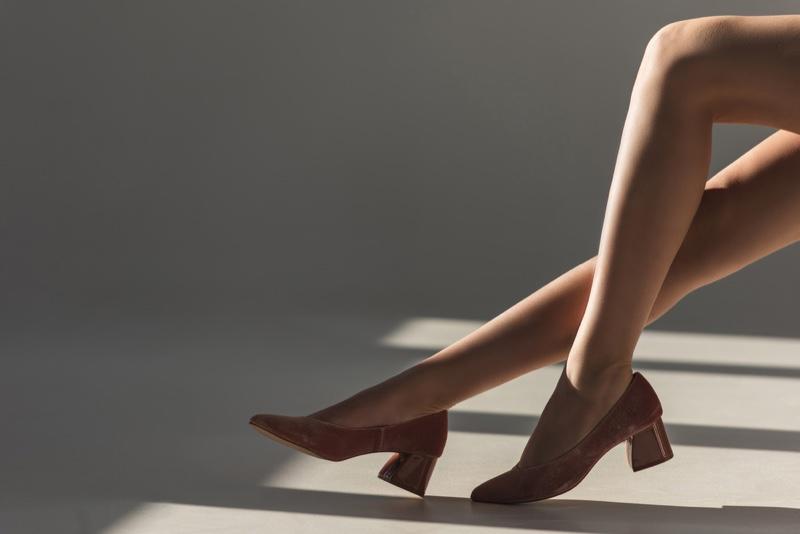 Model Legs Pump Shoes Heels Fashion