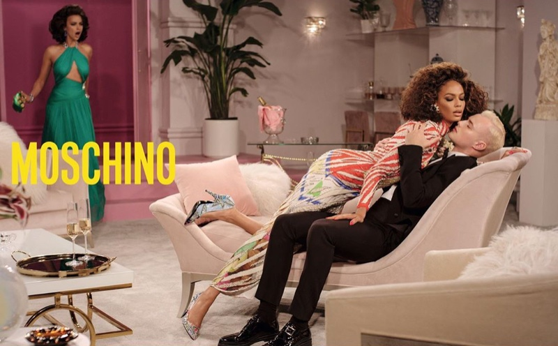 Moschino channels soap opera style for fall-winter 2019 campaign