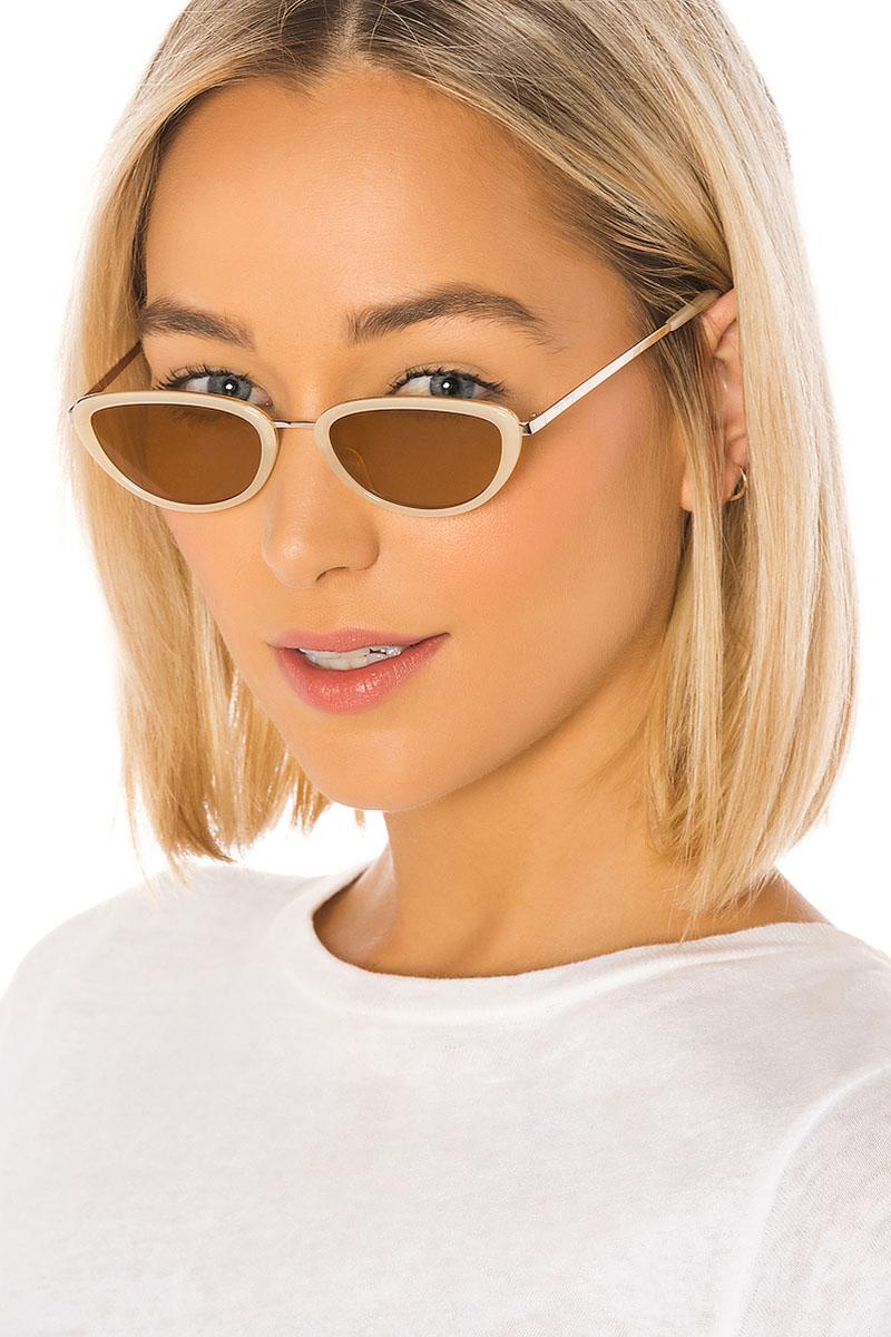 My My My Peyton Sunglasses in Cream $98
