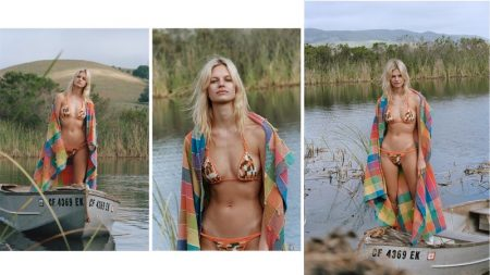 Nadine Leopold Channels Western Vibes for Bamba Swim