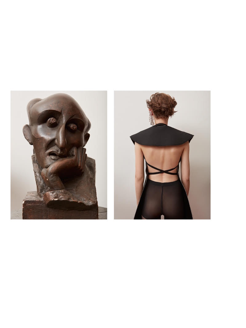 Oliwia Lis Wears Artly Fashion for Harper's Bazaar Ukraine
