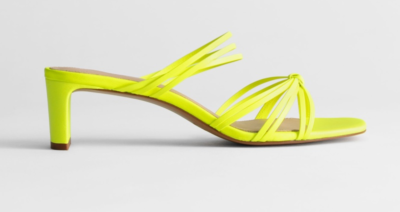 & Other Stories Strappy Knotted Heeled Sandals $129