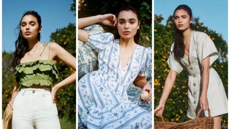 Reformation spring linen dresses