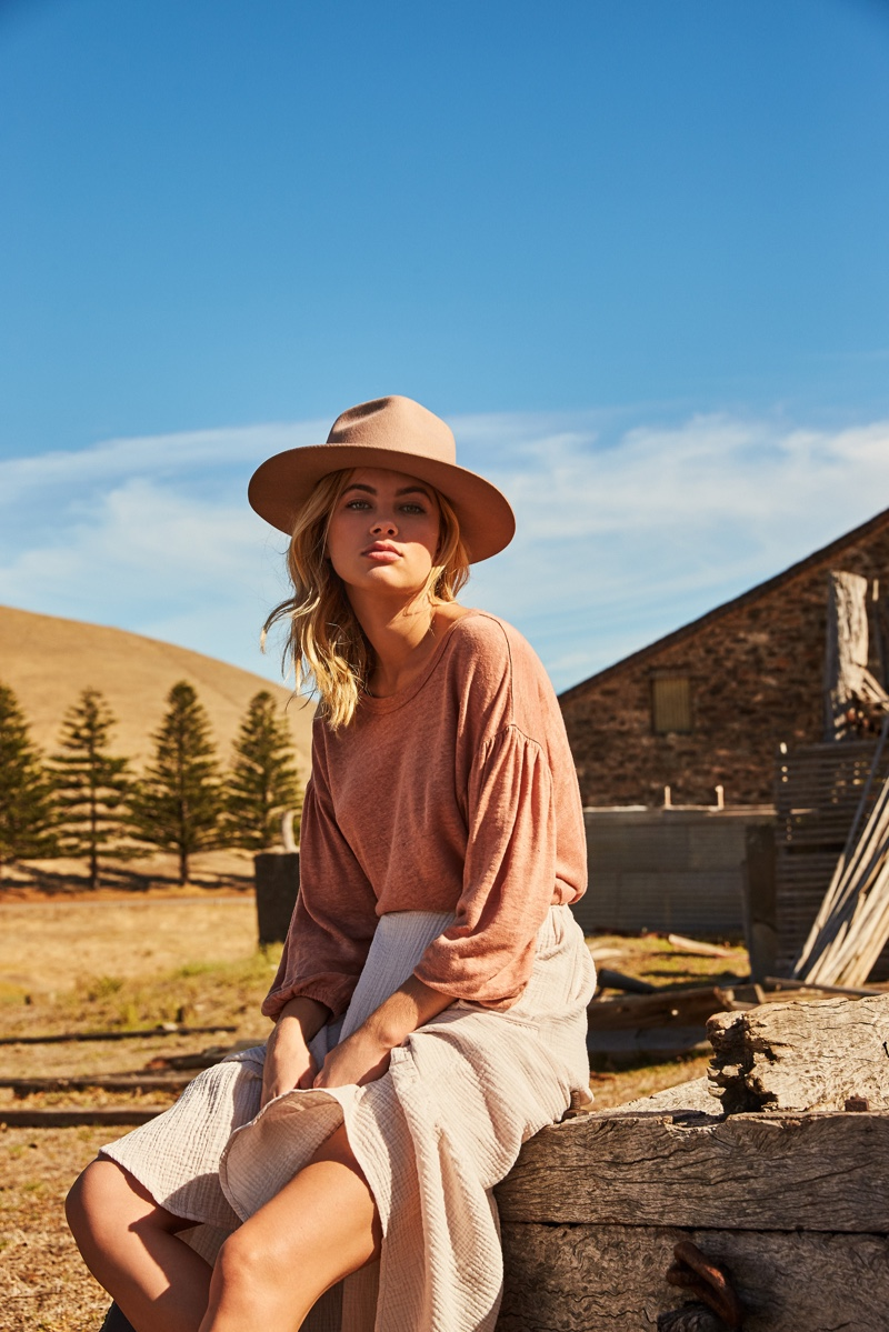 Megan Irwin fronts Rowie The Label pre-spring 2019 campaign