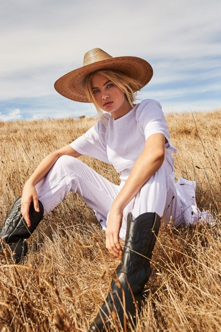 Megan Irwin Models Safari Style for Rowie The Label Pre-Spring '19