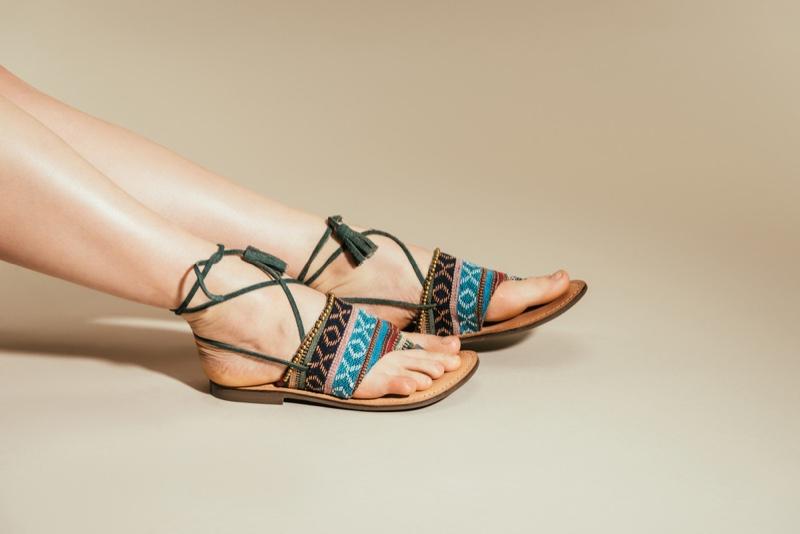 Sandals Flat Designs Straps