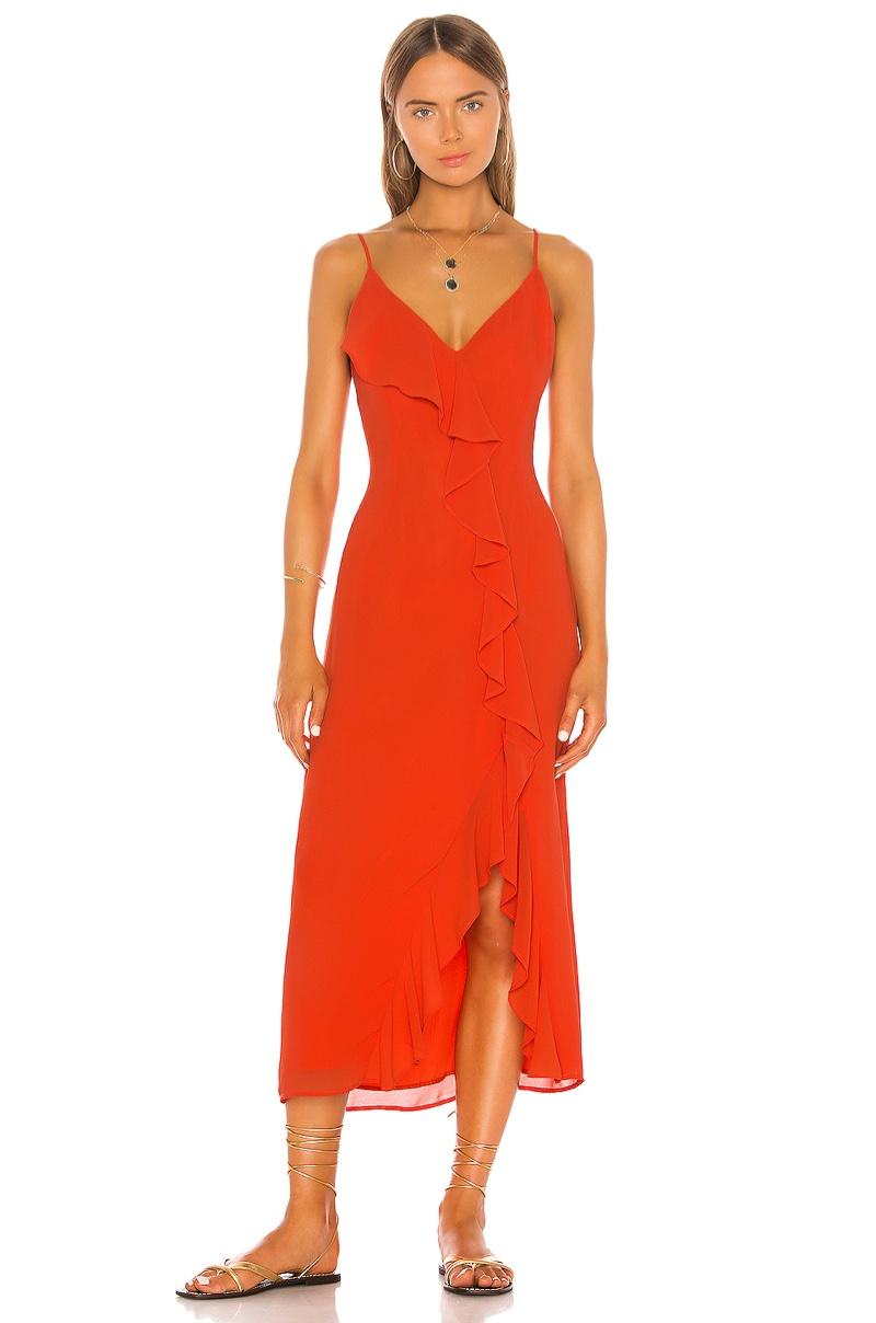 Shaycation x REVOLVE Grace Midi Dress $218