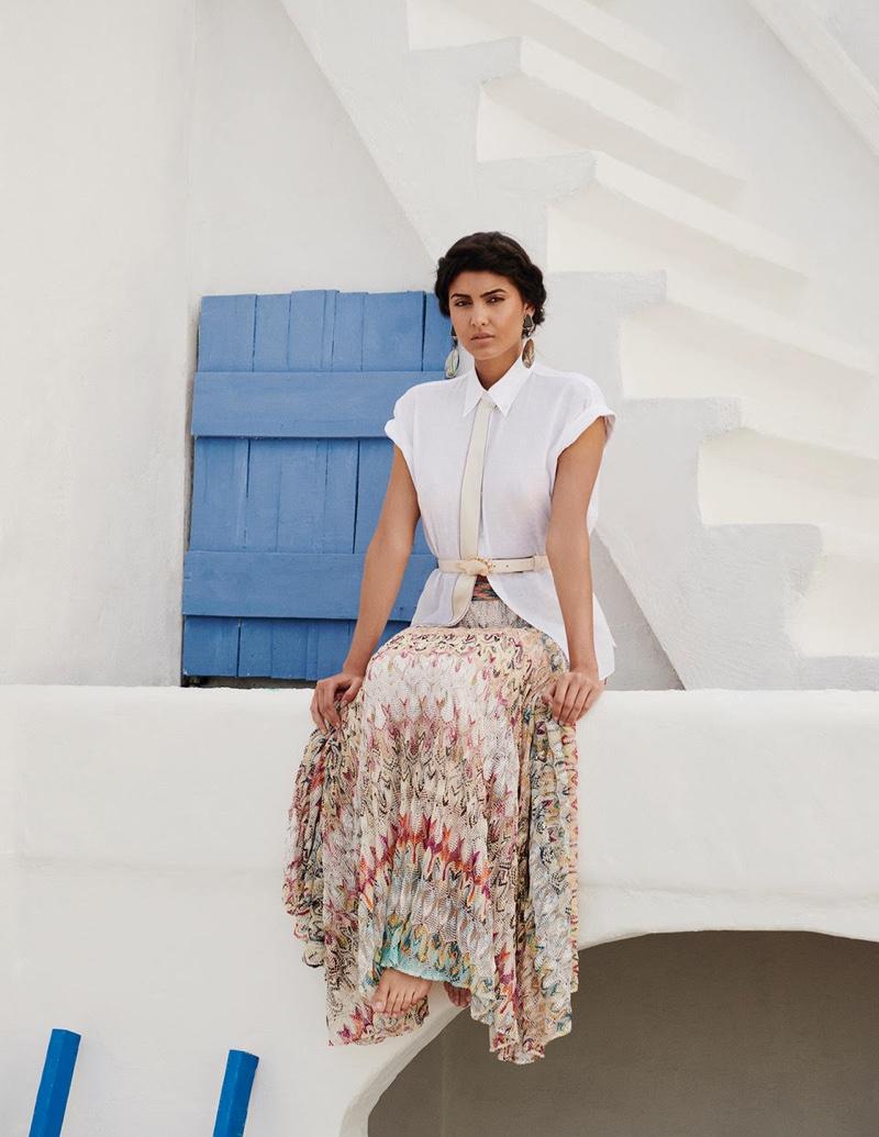 Soa Denise Wears Dreamy Styles for Mujer Hoy