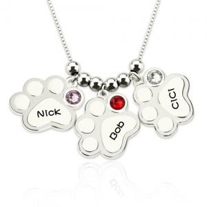 Spinel jewelry name necklace