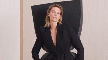 Nadja Auermann fronts Steffen Schraut fall-winter 2019 campaign